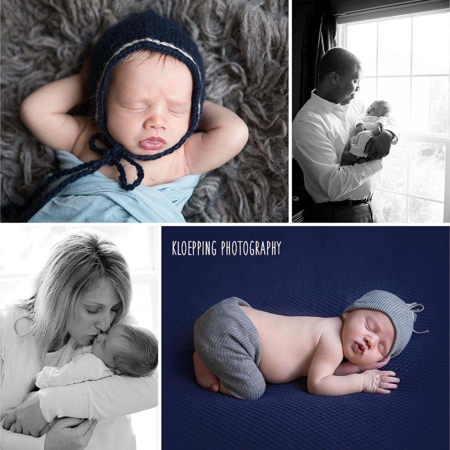 beautiful newborn boy