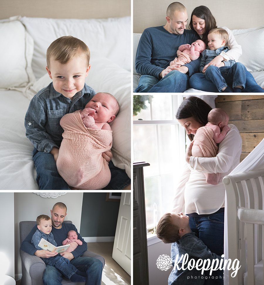 Family Lifestyle Newborn Photos